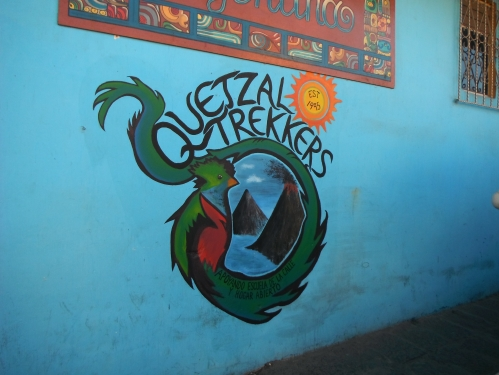 Quetzaltrekkers non-profit. All proceeds go to help local street children