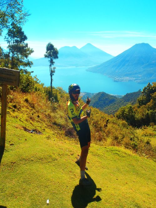 descending into LAGO ATITLAN