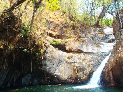 Super secret waterfall