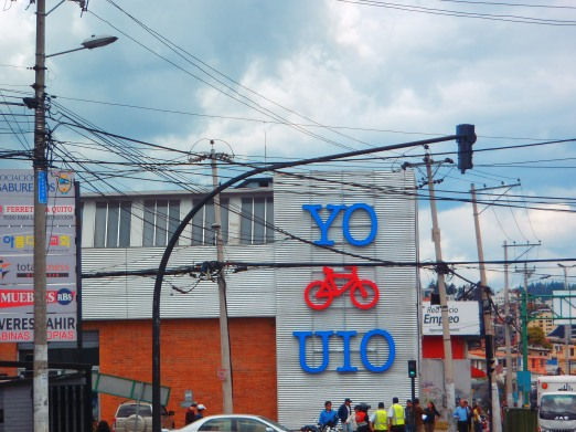 Quito has a big bike scene!