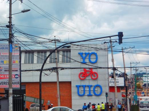 Quito has a big bike scene!