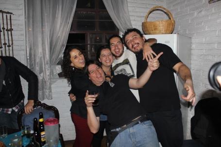 Partying at Danilo's! Primero de Mayo