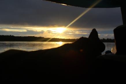 Sunrise on the Napo