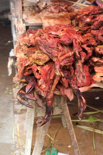 fresh meat! Belen Market