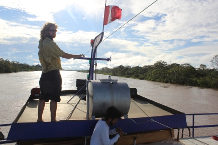 Captain Jack, guiding us through Peruvian Amazon
