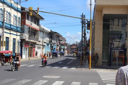 Motos everywhere in Iquitos