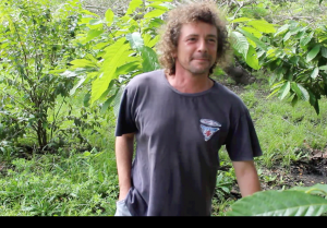 Alessandro the italian cacao farmer