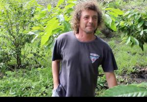 Alessandro the italian cacao farmer