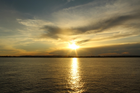 Amazonas sunset