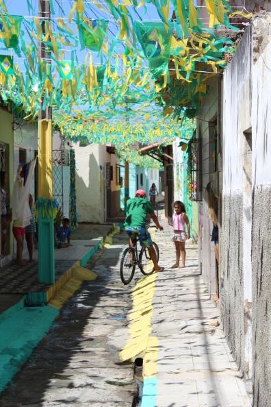 Nova Descoberta neighborhood where we stay