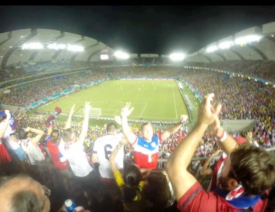 USA 2 - Ghana 1 ! JOHNBROOKS LEGEND!!